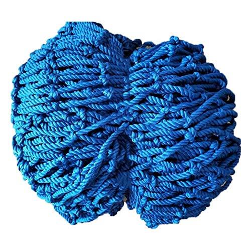 WWWANG Safe Net, Blue Decor Net Balcony Stair Seguridad Negal Seguridad Neto Protección de la red Cerca de la cuerda Tejido Camión de carga Trailer Malla Redes para la protección de la barandilla Play