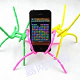 Blacell Universal Multi-function Portable Spider Flexible Grip Smart Phones GPS Car Bicycle Bike Desk Plane Cup Book Support Cell Mobile Phone Holder hanging Mount and Stand for iPod iPhone 4/4S/5/5S/6 Samsung Galaxy Andriod MP4 (Random Bright Color)