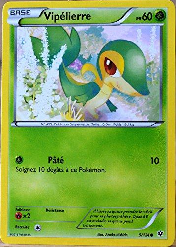 carte Pokémon 5/124 Vipélierre 60 PV XY - Impact des Destins