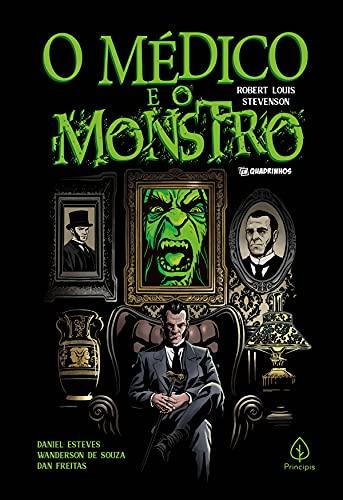 O médico e o monstro (Clássicos em quadrinhos) (Portuguese Edition)