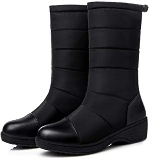 [Alitide] スノーブーツ スノーシューズ 防水 冬用 カジュアル 綿靴 雪靴 防寒 防滑 保暖 ブーツ レディース