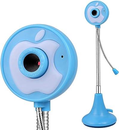 Electz Webcam Full HD per videochiamate Widescreen con Microfono a riduzione del Rumore, videocamera PC Skype, Registrazione per Computer Desktop, Fotocamera USB Plug And Play per Youtube,Blue - Trova i prezzi più bassi