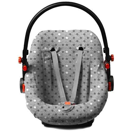 briljantbaby BabyFit * * Universale estivo ecoclass/100% cotone interlock di Jersey * * Per Ovetto, Seggiolino auto, p. es. Maxi Cosi Cabriofix, Citi, Pebble u.a. (Morris asterisco)