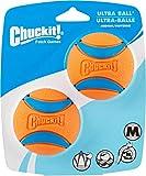 Chuck It! Ultra Ball Dog Toy, Medium, 2 Count, 12 Pack