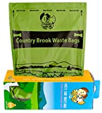 300 Count Country Brook Petz - Lavender Scented Potty Time Waste Bags, Single Roll