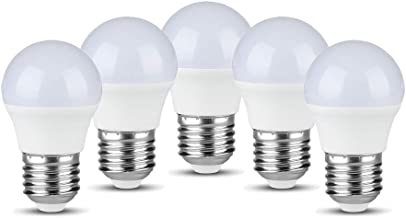 V-TAC LED Classic G45 Golflamp 40W Equivalent met Samsung LEDs E27 5.5W ES (Edison Schroef) 4000K Dag Wit Kleur Niet Dimba...