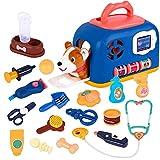 liberry Vet Kit for Kids, Durable Veterinarian Kit for Kids, Vet Playset with Little Puppy, Pretend Play Doctor Kit for Kids, Educational Vet Toys for Toddler Boys Girls 3 4 5 6 7 8 Years Old
