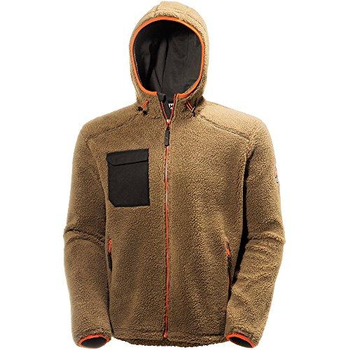 Helly Hansen 72256_779-M Faserpelz-Jacke Chelsea Größe M in braun/schwarz, M