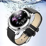 KW10 Montre Intelligente,Montre Cardiofréquencemètre,Tracker d'Activité Écran Coloré,Smart Bracelet en Acier connecté...