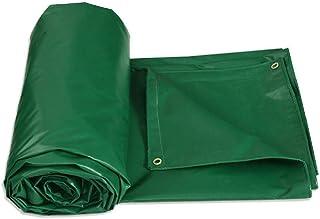 防水シート、防水厚カバー6 x 8 mサンシェード、日除けボートハウスの日除けグリーンに最適(サイズ:2m x 3m)