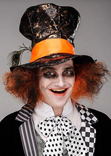 Magic Box Sombrero de Sombrerero Loco Oscuro gótico para Hombre con P