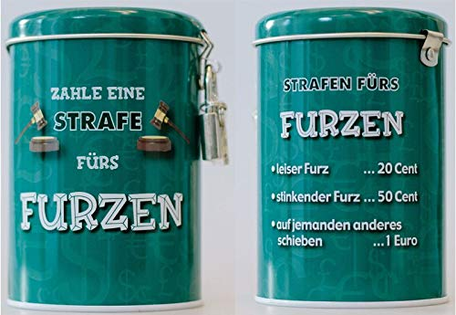 Around the world 13178 Strafe Spardosen-Furzen