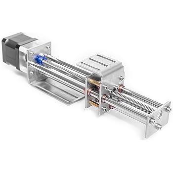 Deslizador de riel lineal CNC, ejes Z de acero inoxidable 60MM ...