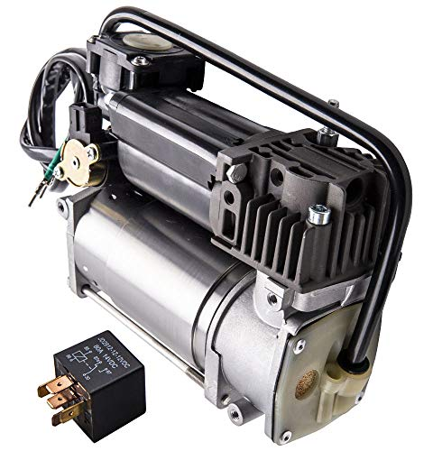 maXpeedingrods Air Suspension Airmatic Compressor Pump + Relay for Phantom Pneumatic 4154033040 2000-2006
