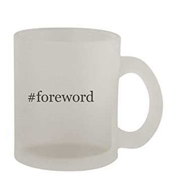 #foreword - 10oz Hashtag Frosted Coffee Mug Cup, Frosted