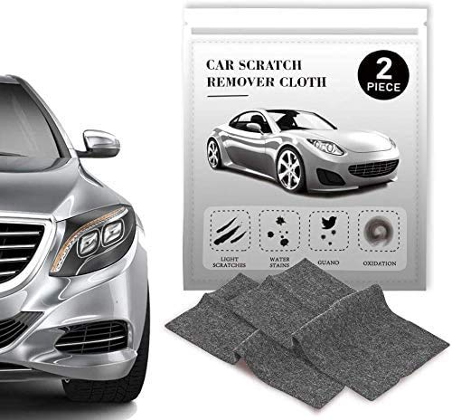 Nano Sparkle Cloth, Nano Sparkle Cloth for Car Scratch Remover, Nano Cloth Scratch Remover,Nano Magic Cloth Easy to Repair Light and Small Scratched on Surface 2 Pcs