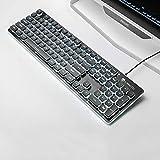 Immagine 1 wrangler tastiera da gioco meccanica