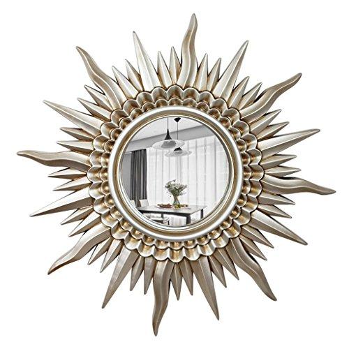 Espejos Coco Decorativo Europeo Moderno Forma del Sol Pared