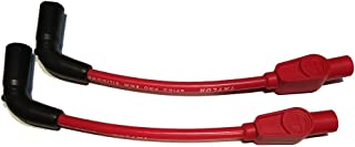 JBSporty Red Taylor short Wires for Coil relocate Harley Davidson Sportster, Nightster, 72, 48 Iron Roadster 883 1200