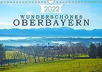 Wunderschoenes Oberbayern (Wandkalender 2022 DIN A4 quer): Vielfaeltige Eindruecke der oberbayrischen Landschaft. (Monatskalender, 14 Seiten )
