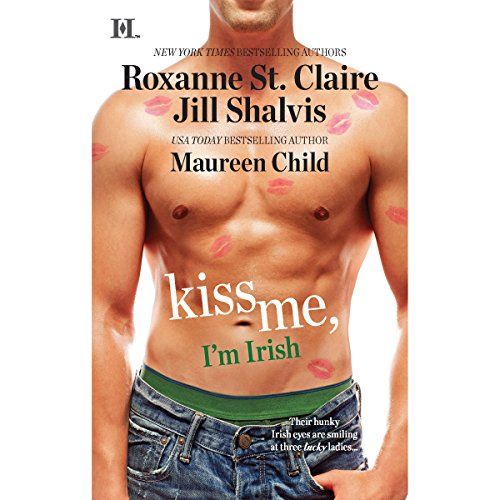 Kiss Me, I'm Irish audiobook cover art