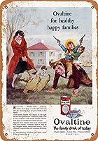 金属看板幸せな家族のための1960人のオバルト住宅装飾ホーム装飾