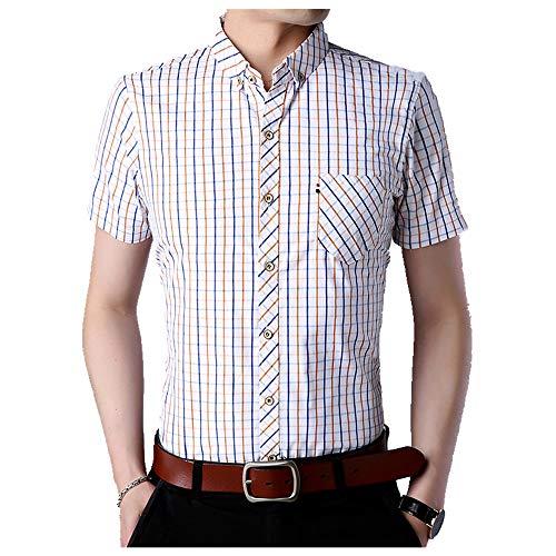 U/A Summer - Camiseta de manga corta para hombre Amarillo amarillo XL