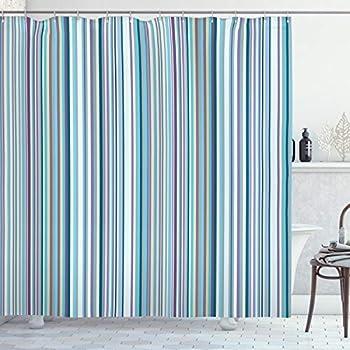 aqua coloured curtains