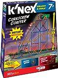 K'Nex Amusement Park Collect & Build - Corkscrew Coaster (337 pieces)