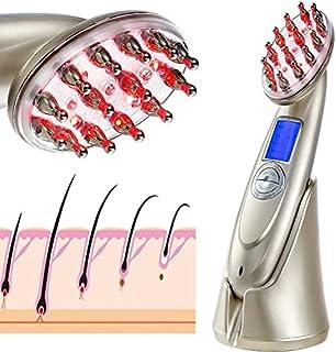 Aparelho para tratamento do cabelo a laser RF - Pente elétrico para massagem da cabeça