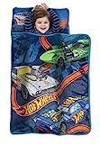 Hot Wheels Toddler Nap Mat, Blue