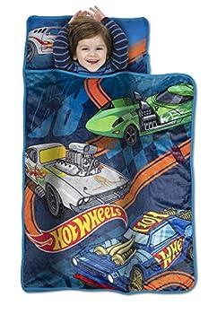 Hot Wheels Toddler Nap Mat Blue