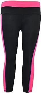 Womens Sports Yoga Capri Legging Fitness Stretch Pants for Hot Yoga Gym Running Fitness (GYC107)