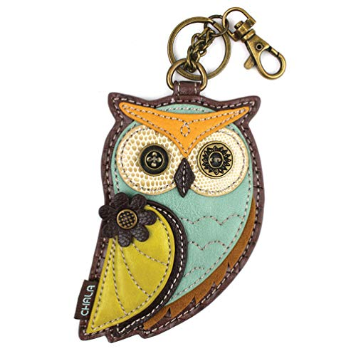 New! CHALA Spring Collection- Decorative Coin Purse/Key-Fob (Gen-III Owl)