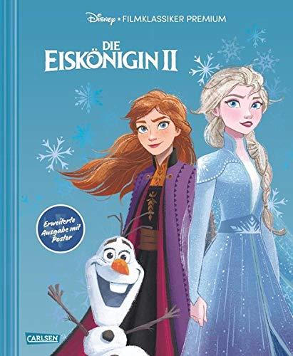Disney: Die Eiskönigin 2 – Filmklassiker Premium: Erweiterte Ausgabe mit Poster: Großformatiges Bilderbuch zum Kinofilm mit Premiumausstattung und beigelegtem Poster zur Eiskönigin