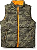 Amazon Essentials Heavy-Weight Puffer Vest down-outerwear-vests, Camuflaje, 4T
