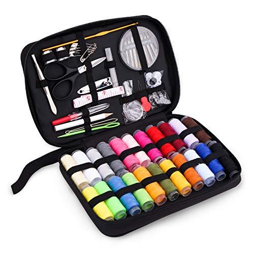 Kit de Costura con 156 piezas Accesorios, Costurero con