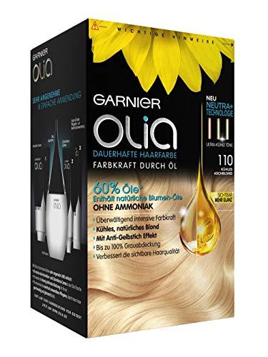 Garnier Olia Coloration Kühles Aschblond 110, 1 St (1er Pack)