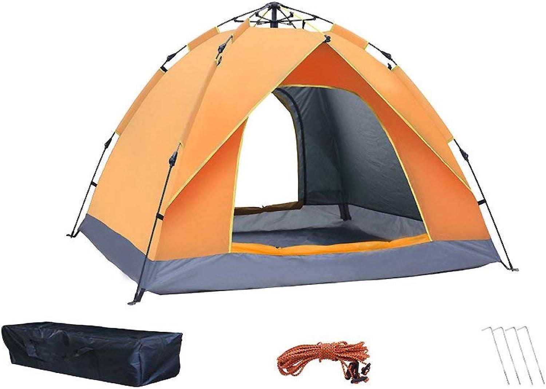 DYR DYR DYR Outdoor Camping Zelt, 34 Personen Zelt Verdickung Regendicht 2 Doppel Familien Camping Automatische Zelt Mit Tragetasche Automatische Instant Pop Up Backpacking Zelt B07Q44ZKP4  Elegantes Aussehen ba3277