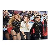 QIANCHANG Beyonce-Poster und Bruno Mars Poster 2