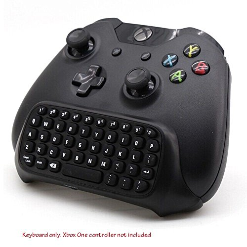 Xbox One Keyboard, Prodico Wireless Chatpad Message Game Keyboard 2.4G Receiver Keypad for Xbox One Controller