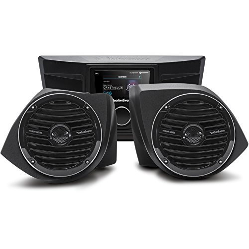 Rockford Fosgate YXZ-STAGE2 Stereo and Front Speaker Kit for Select 2016-2020 Yamaha YXZ Models