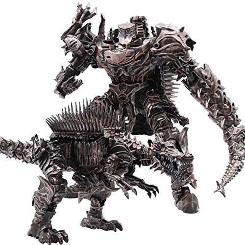 Deformation King Kong Toy Scorn Action Figure Toys Dinobots Ancient Behemoth Dinosaur Movie Model for Boys and Girls Gift