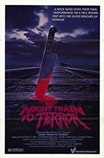 1985 Night Train to Terror 27 x 40 inches Style A Movie Poster