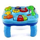 GEDEIHEN Baby Lerntisch, Multifunktions Baby Musik Spielzeug Tisch, Spieltisch Baby ist für Babys ab 18 Monaten, 100% Sicher und Unterhaltsam