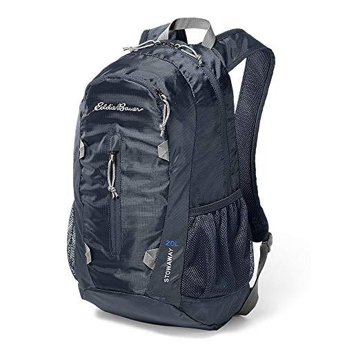 Eddie Bauer Unisex-Adult Stowaway Packable 20L Daypack, Navy Regular ONESZE