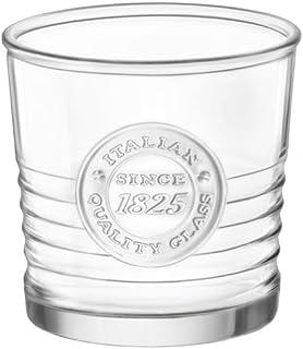 Bormioli Rocco Officina1825 Water Glass - 10.25 oz - 4 Piece Set, Clear