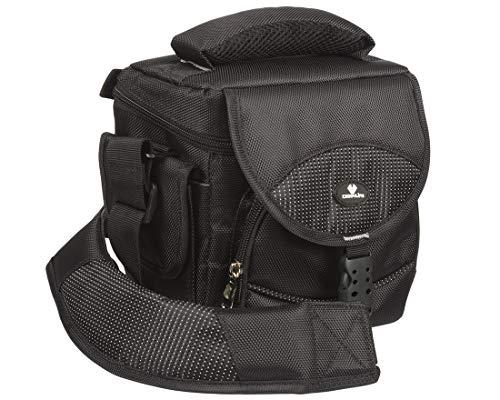 Case4Life Profi DSLR Kameratasche stoßfest + Regenschutz für Canon EOS inc 2000D, 200D, 4000D, 1300D, 1200D, 100D, 1100D, 80D, 700D, 750D, 760D, 70D, 600D, 500D, 5D, 5DS, 400D, 6D, 650D, 1000D, M3, M5