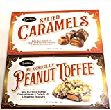 Salted Caramels in Chocolate & Peanut Toffee In Milk Chocolate, 17 oz, 2Pk
