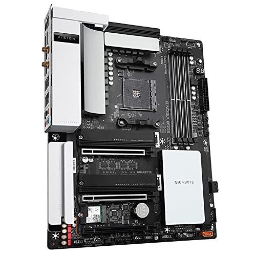 Shuang B550 VISION D placa base de diseño AMD soporta 3500X/3600XT